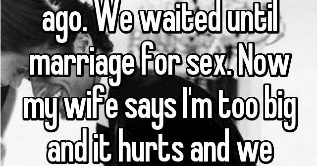 Confessions From People Who Waited Until Marriage To Have Sex And Regret It.