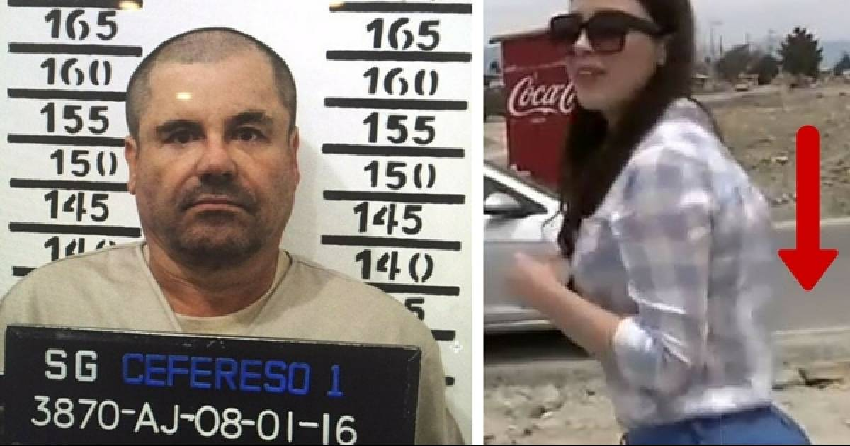 Drug Lord El Chapo's Wife Was Seen Visiting Him In Prison For A Conjugal Visit. Now People Are Freaking Out About Her...
