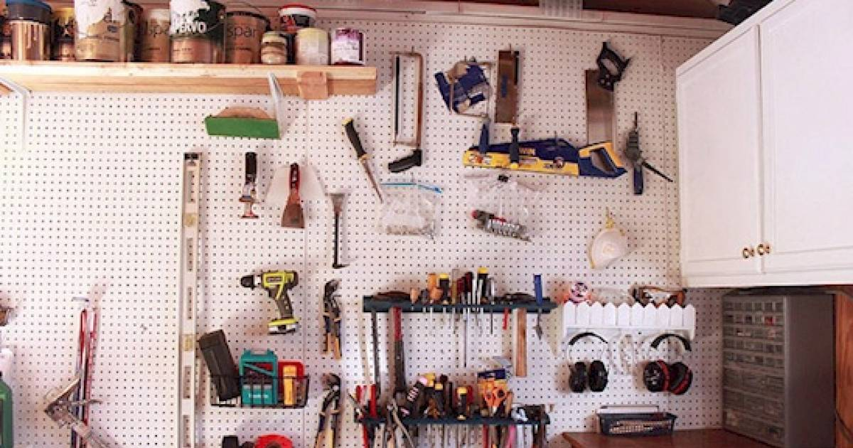 Clever Organization Hacks That Will Help You Declutter Your Garage