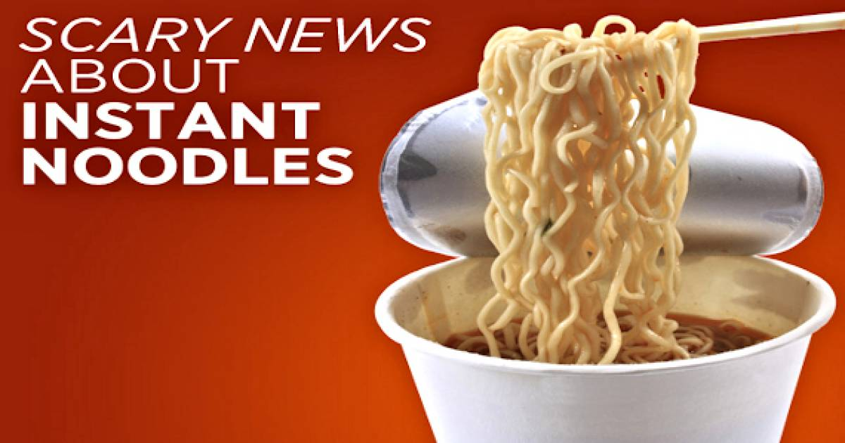 If You Buy Instant Noodles, Throw Them Out IMMEDIATELY! Here's Why