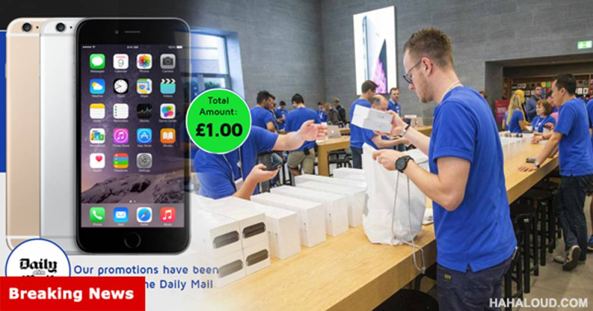 Shocker: Apple Gets Desperate. Liquidates Overstocked iPhone 6S for $1