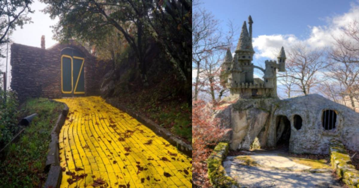 """They Found An Abandoned """"Wizard Of Oz"""" Theme Park And What's Inside Is Seriously Creepy"""