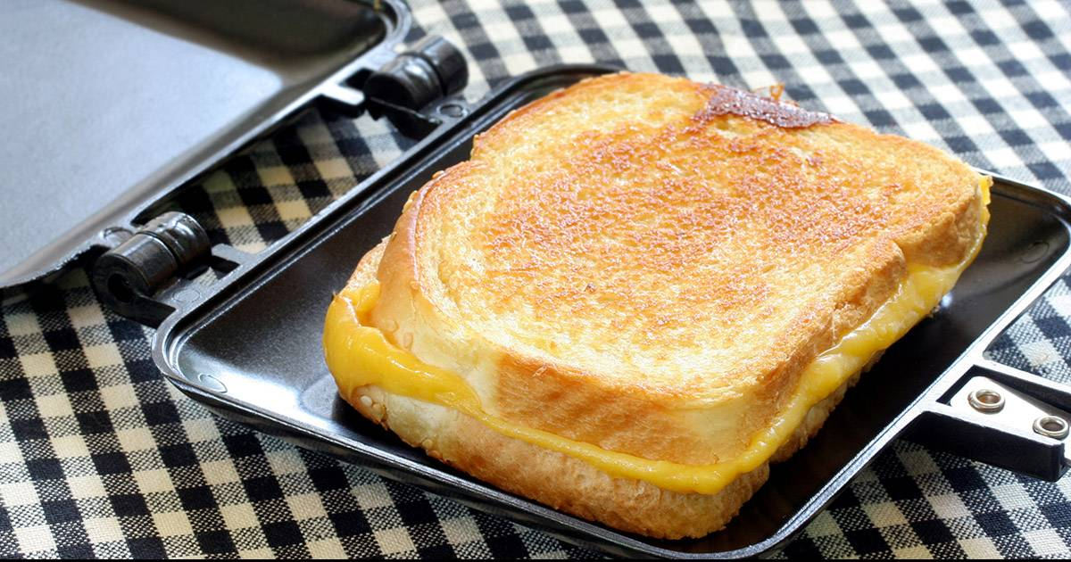 Don't Use Butter On Your Grilled Cheese! This Is So Much Better!