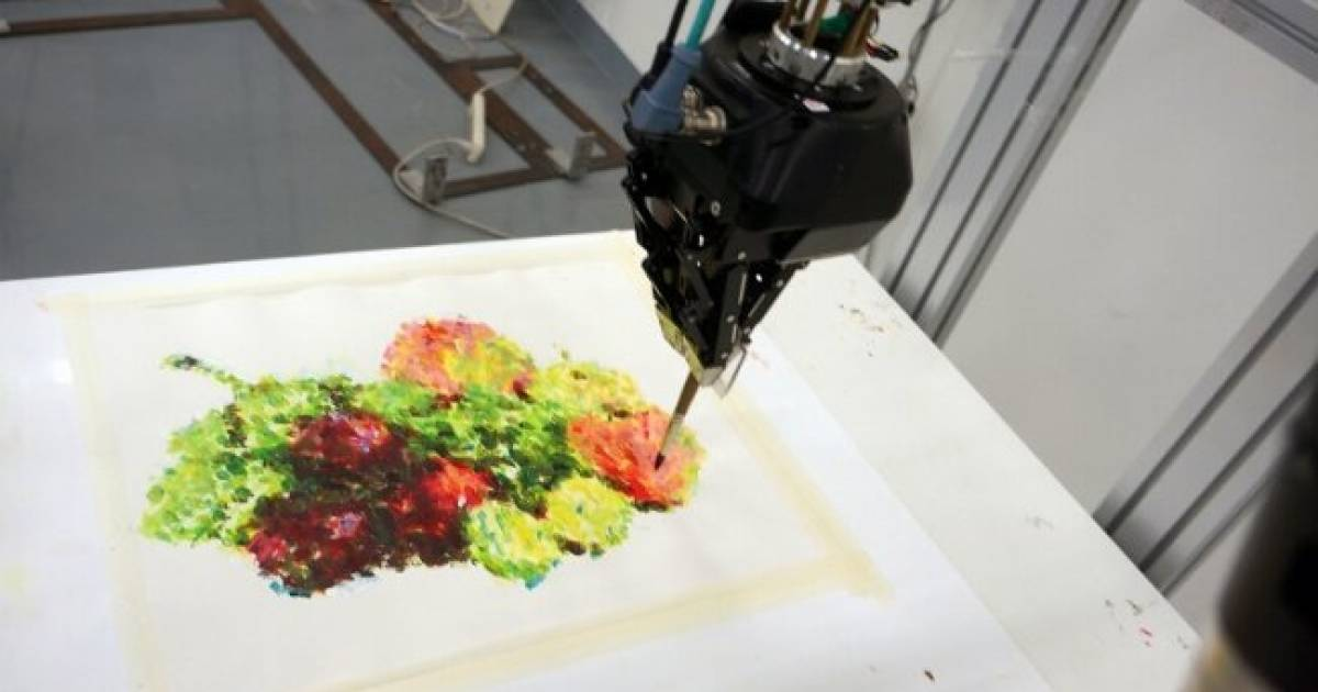 Move Over Picasso & Van Gogh, This Robot Is Taking The Art World By Storm