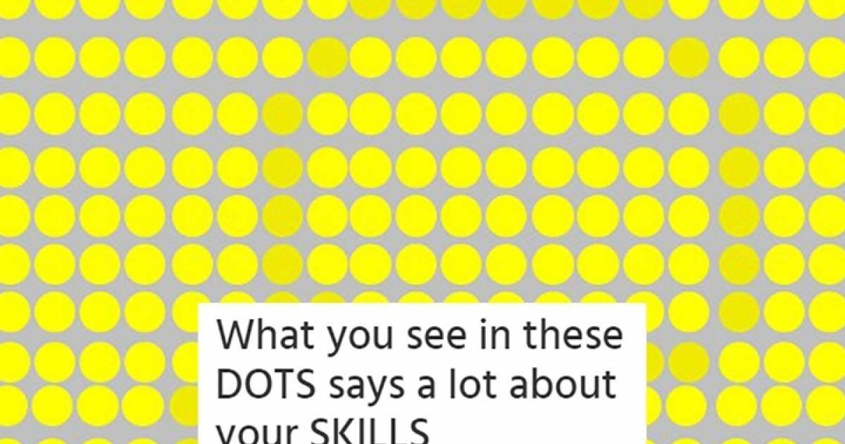 Can We Guess Your Personality Based On What You See In These Dots?