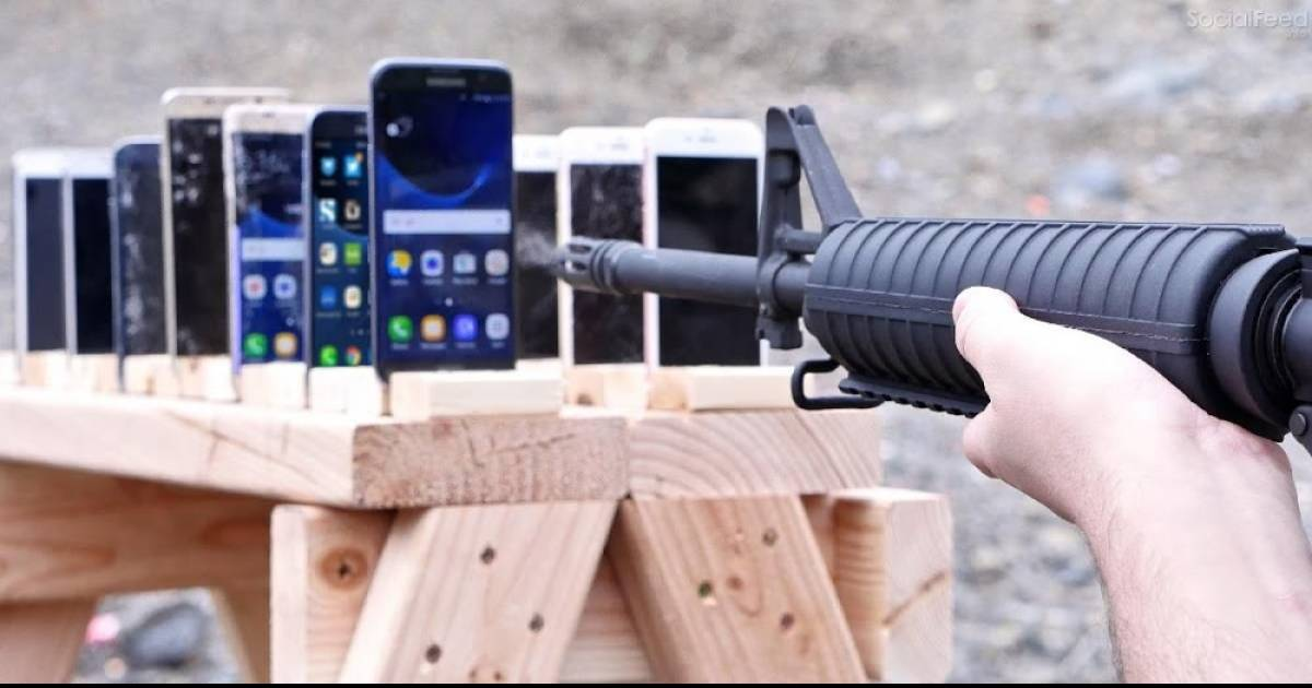 The Results May Surprise You When They Try To Find Out Which Cellphone Brand Is The Most Bulletproof