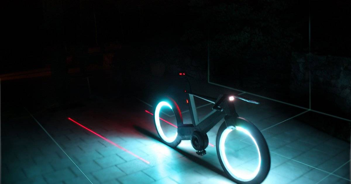 This Is The Bicycle For The Future And It Looks Like It's Straight Out Of 'Tron'