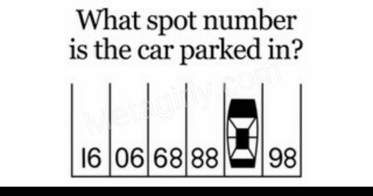 If You Can Solve This Question Your IQ Is Quite High