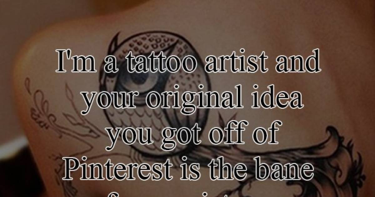 Confessions By Tattoo Artists Which Will Show The Reality Of Their Job