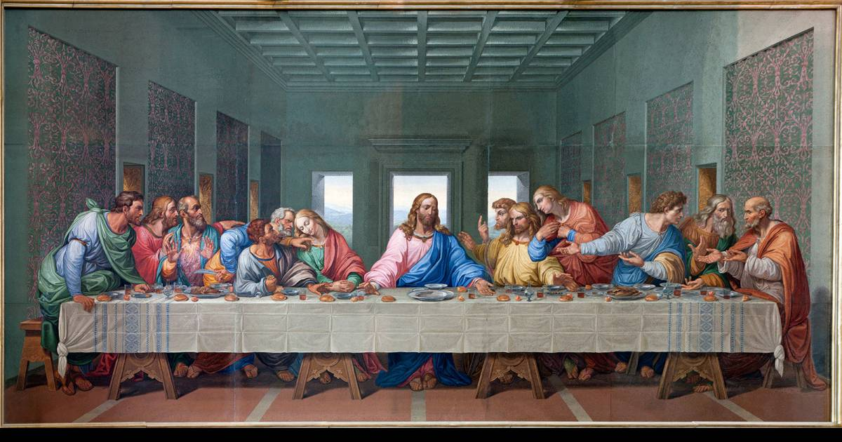 A Researcher Claims There Is A Hidden Message In Da Vinci's Last Supper Painting