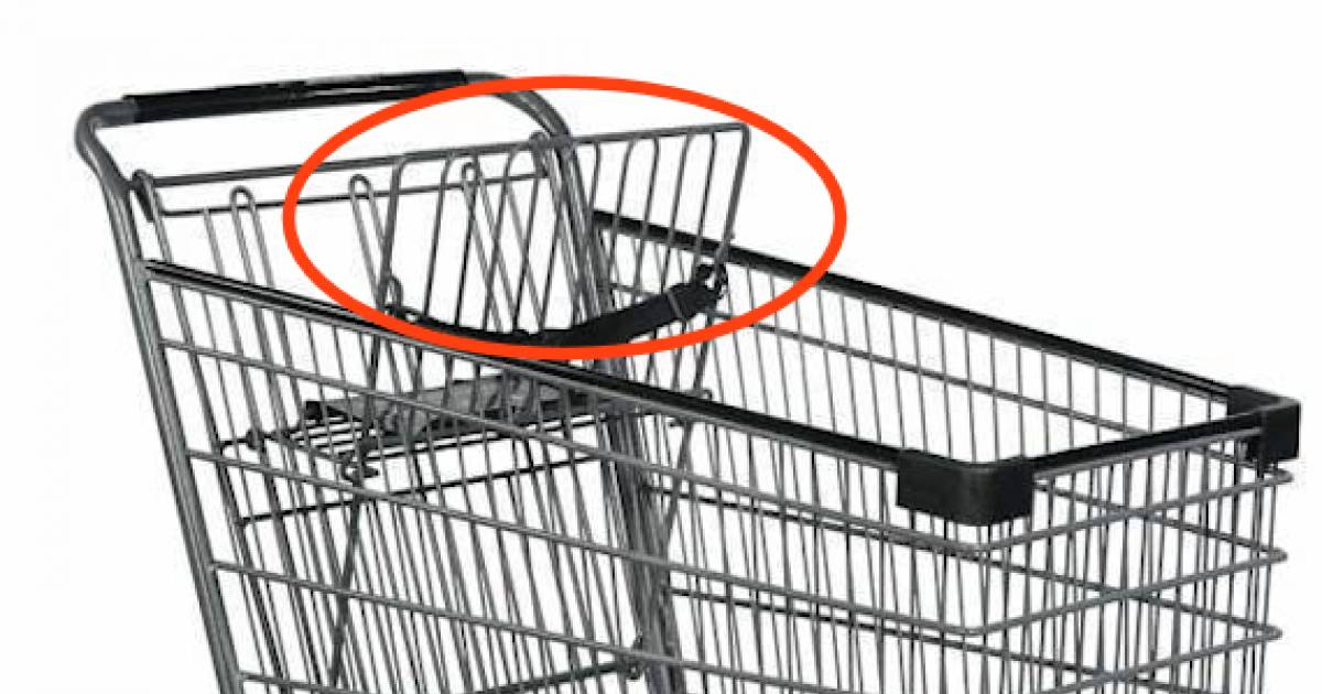 Here's What Those Loops Are For On Shopping Carts