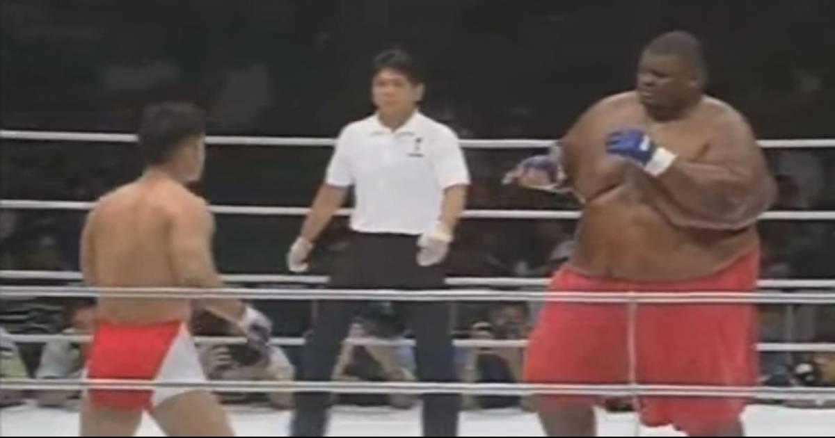 Sumo Wrestler vs MMA Fighter