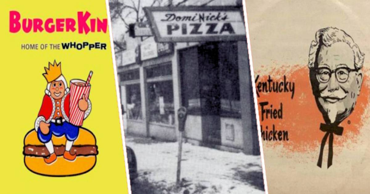 The Evolution Of Fast Food Logos