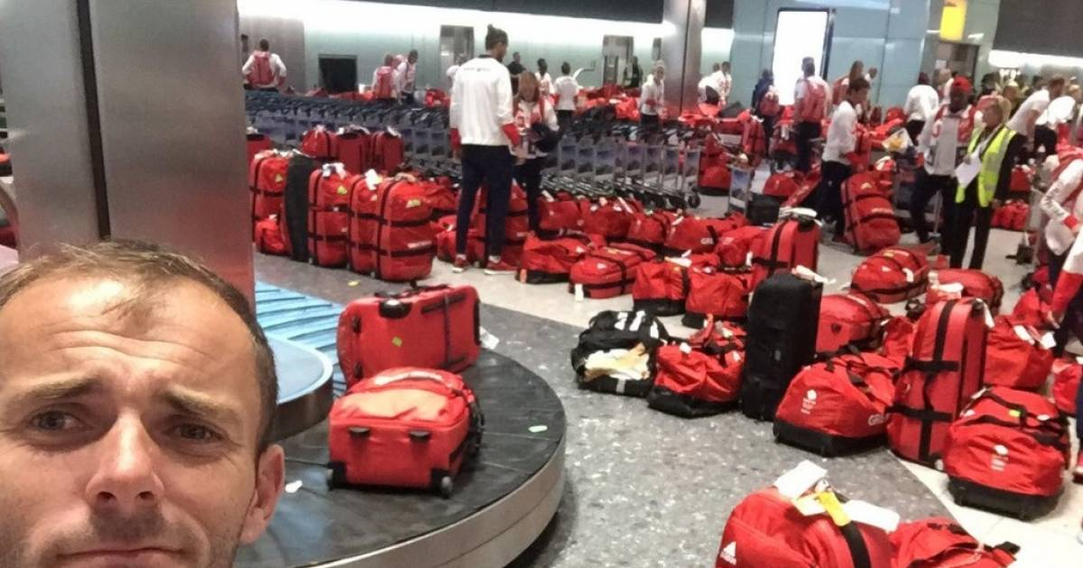Everyone's Laughing At The British Olympic Team's Baggage Fail.