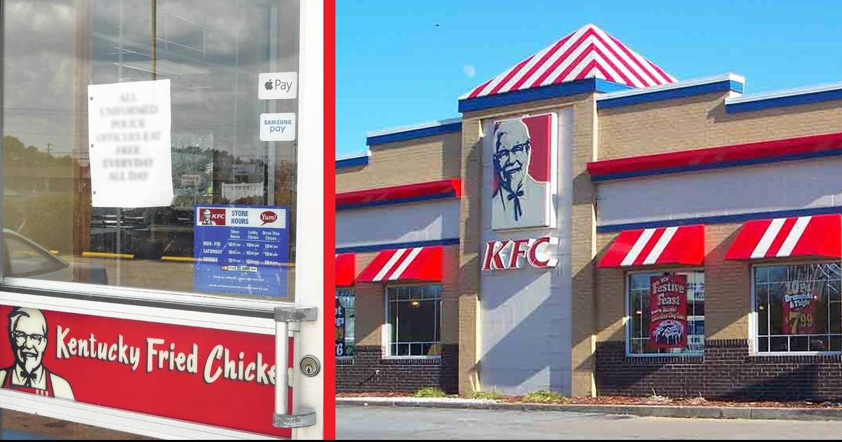 """Unhappy Customers Complain About Sign Posted On Door, KFC Says """"Too Bad, It Stays Up!"""""""