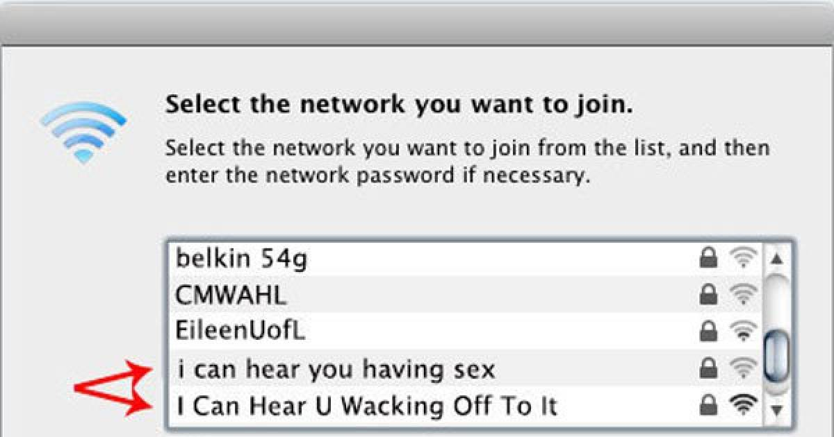 WiFi Names Are The 21st Century Way To Piss Off Your Neighbours
