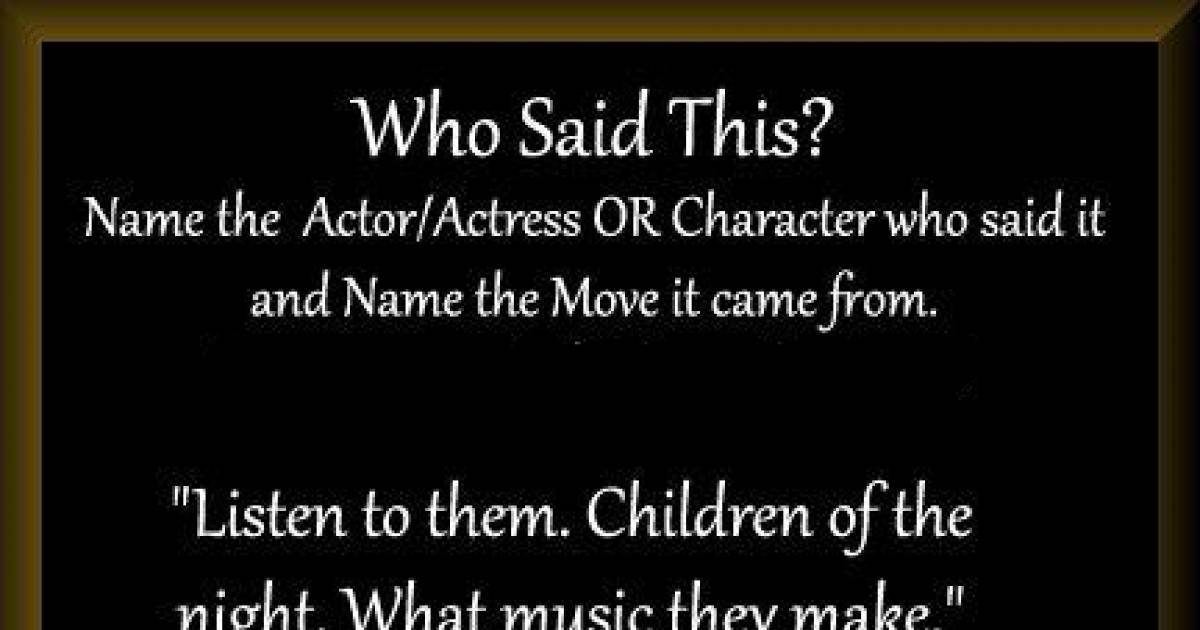 I'd Bet Even The Biggest Movie Buffs Won't Get These All Right.