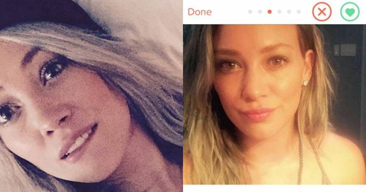 Hilary Duff Admits It's Really Her On Tinder And That She Went On A Date With Some Prick Named Tom