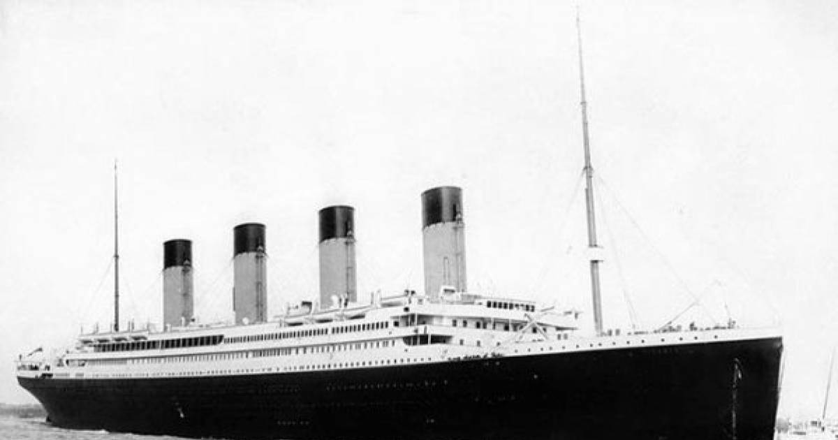 Do You Remember The Titanic? Well, It's Still There Deep Down Under The Waters.