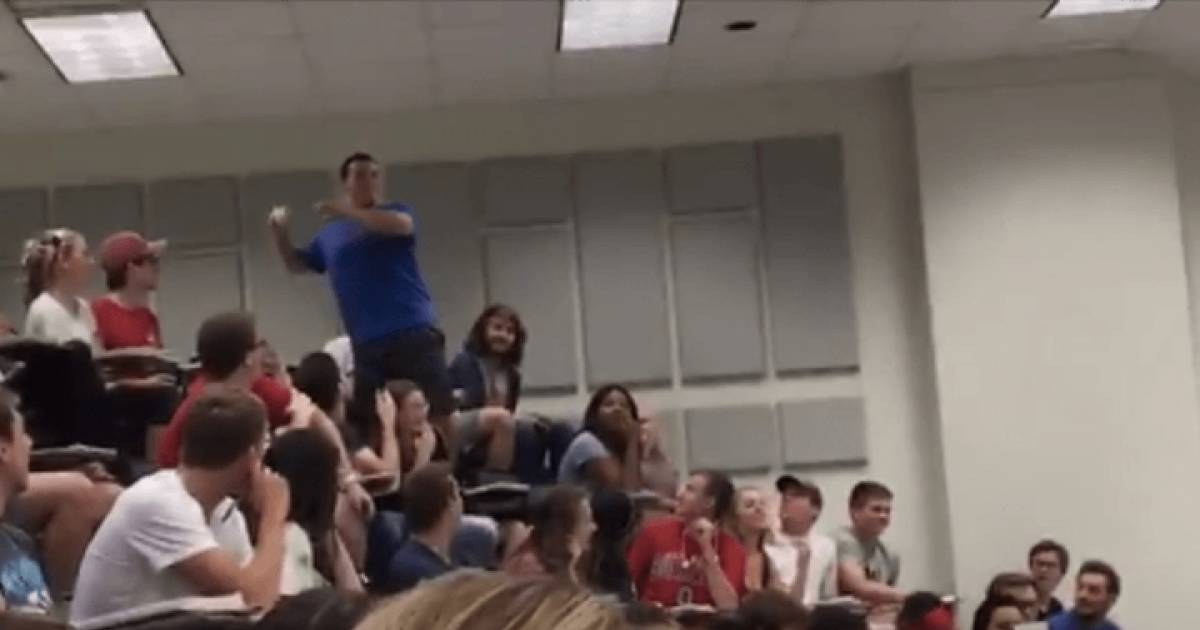 This Student Bet His Professor He Could Sink An Impossible Shot And Got His Entire Class A's