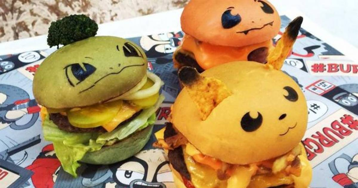 Sydney Restaurant Launches Pokemon Burger