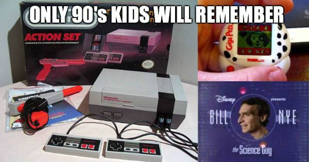 Throwback Things Only '90s Kids Will Remember