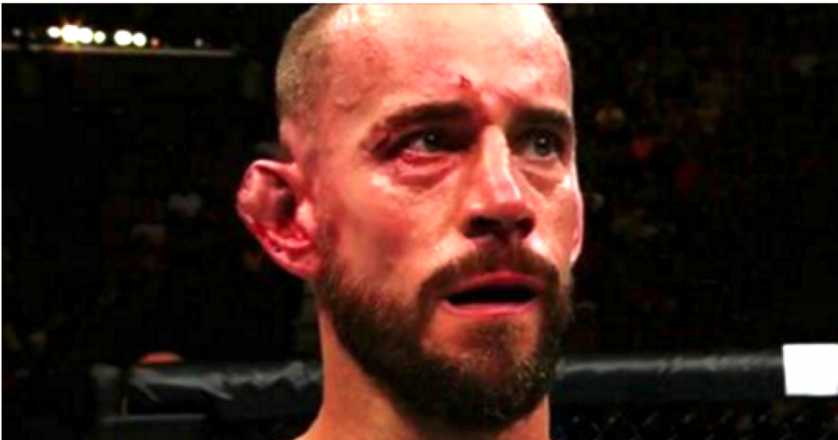 Former WWE Champ CM Punk Gets Embarrassed In UFC 203 Debut
