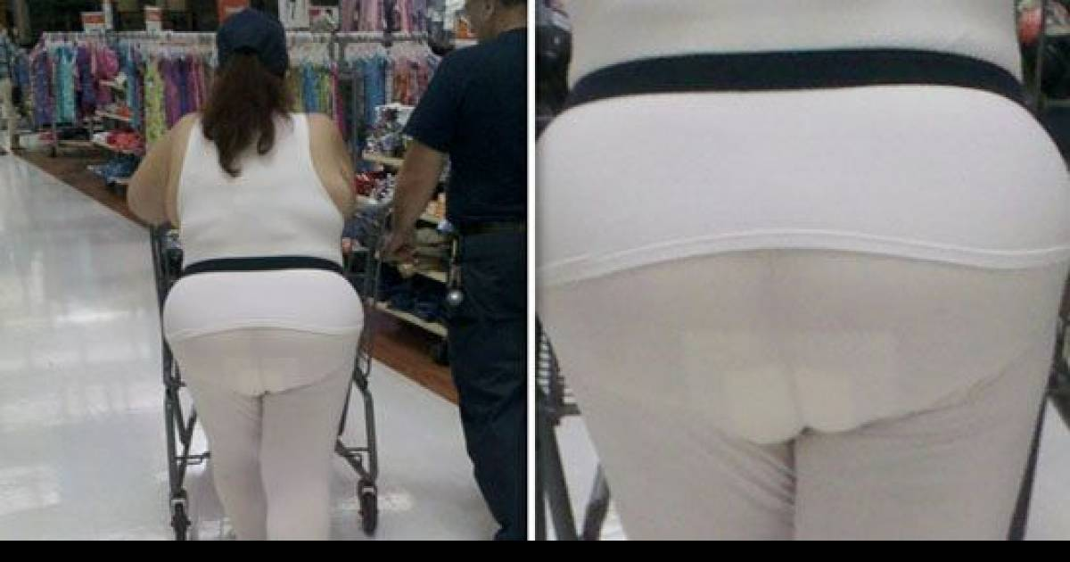 These Are The Worst Leggings Fails You'll Ever See. Who Walks Out Of The House Like This?