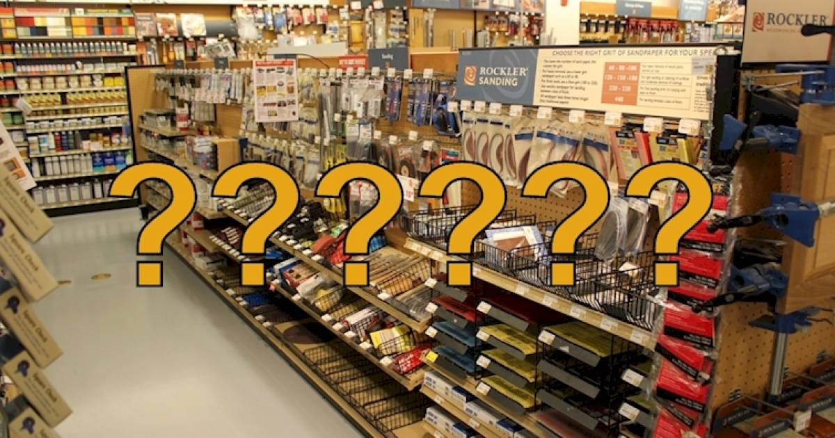 People Are Struggling To Solve This Hardware Store Riddle