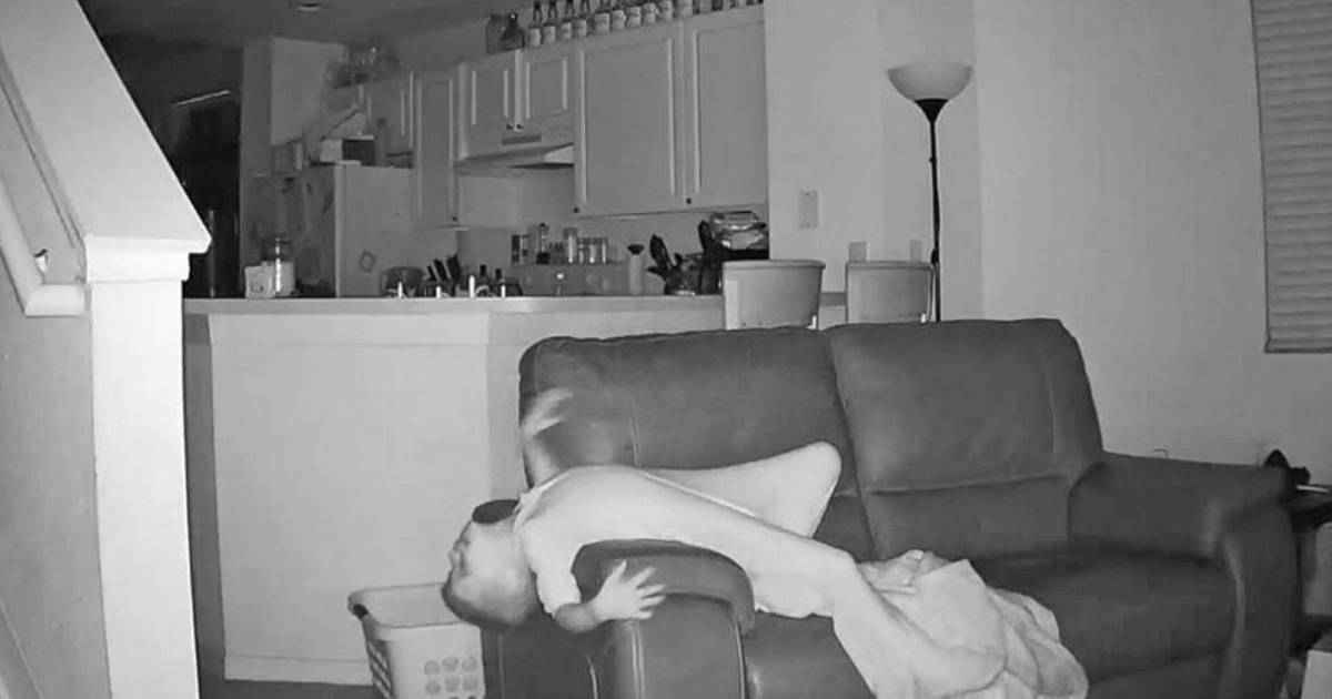 Dad Sets Up Hidden Security Camera, At 2 A.M. Captures 6-Year-Old Acting Creepy
