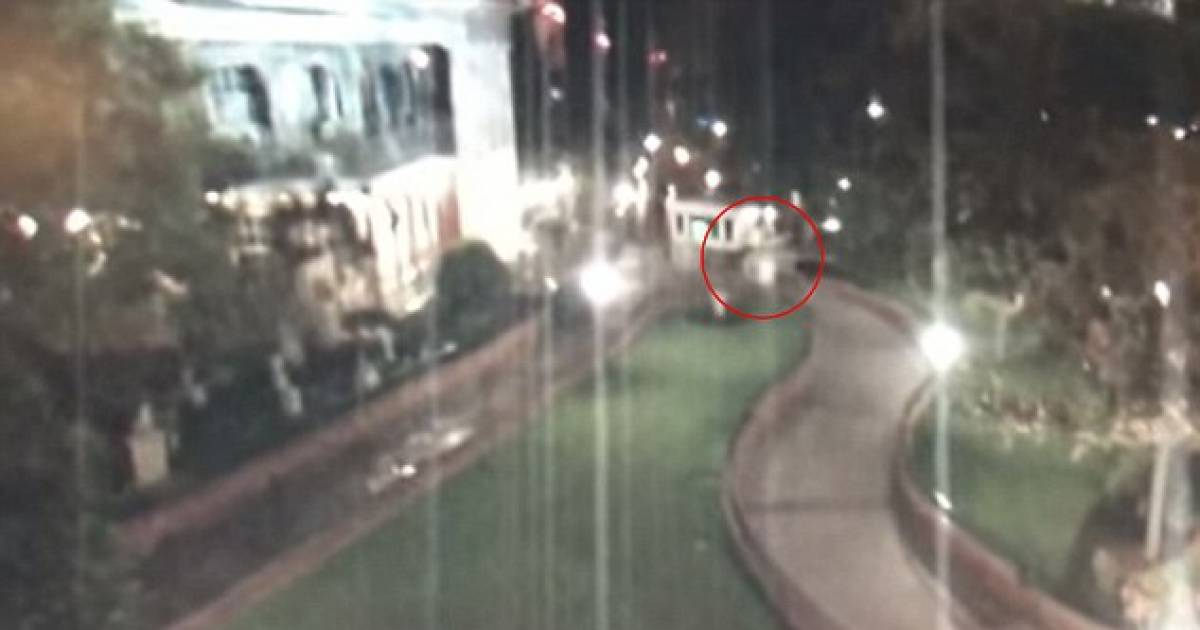 Disneyland Surveillance Camera Keeps Filming When The Park Closes, Captures Creepy Activity