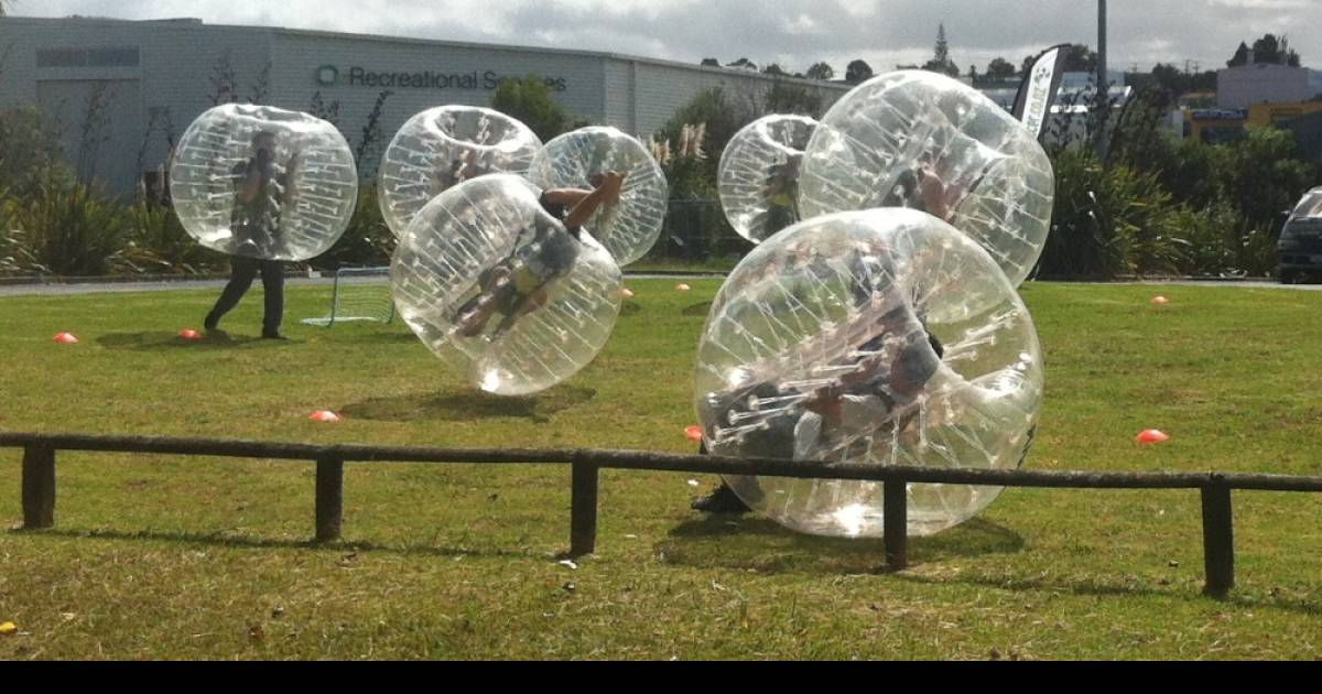 Bubble Soccer In New Zealand – The Funniest Thing You Will See This Week