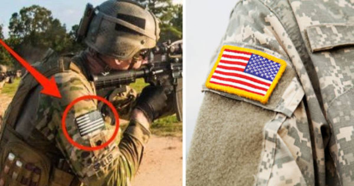 This Is The Reason Why The Flag Is Backward On American Military Uniforms