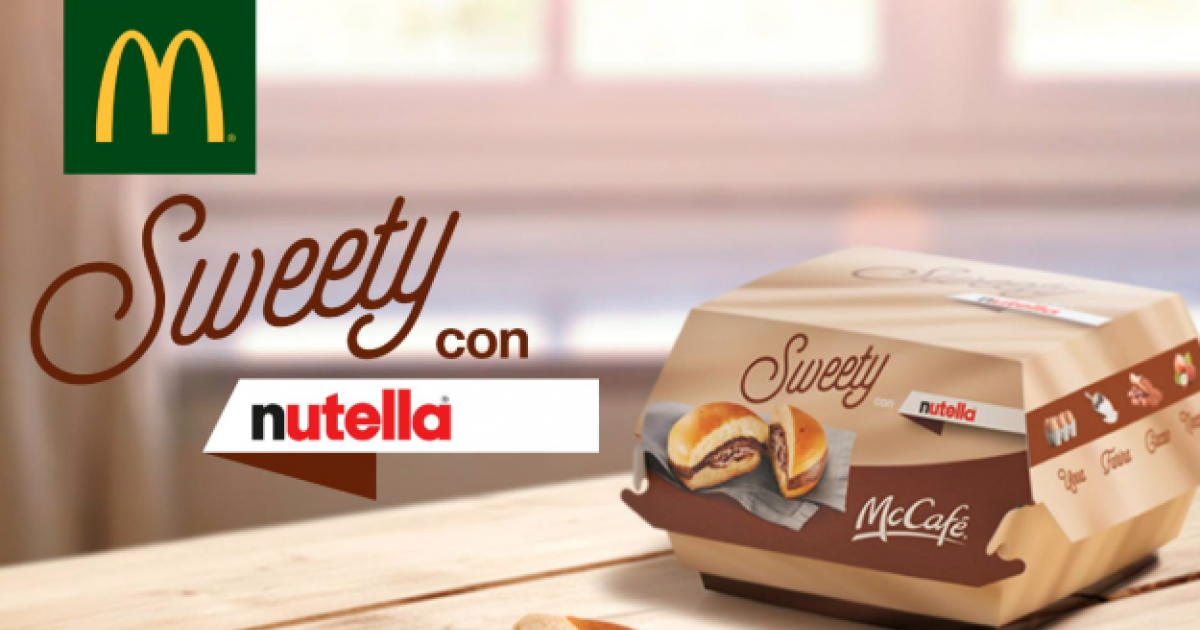 Mcdonald's Has A Nutella Burger That Oozes Chocolate! This Is What It Tastes And Looks Like