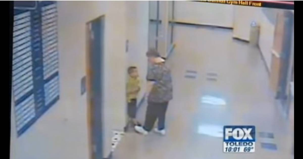 Parents Furious, Security Footage Shows What Kindergarten Teacher Does To Son