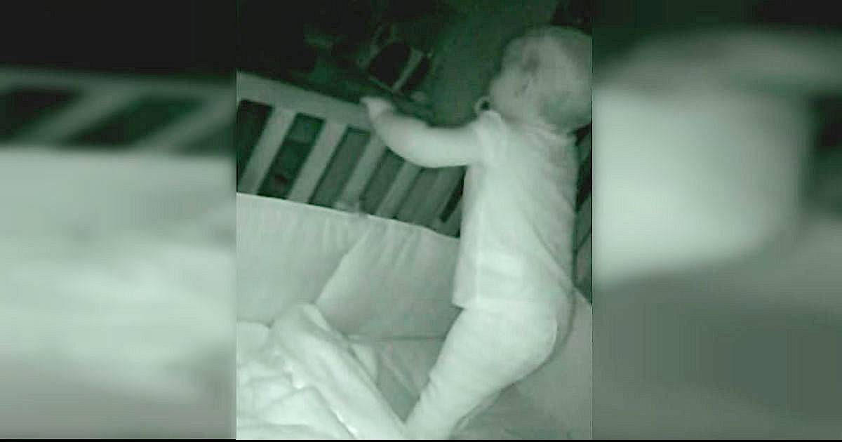 Mom Hears Man Say 'Wake Up, Baby' On Monitor, Then Realizes She's Never Heard This Voice Before