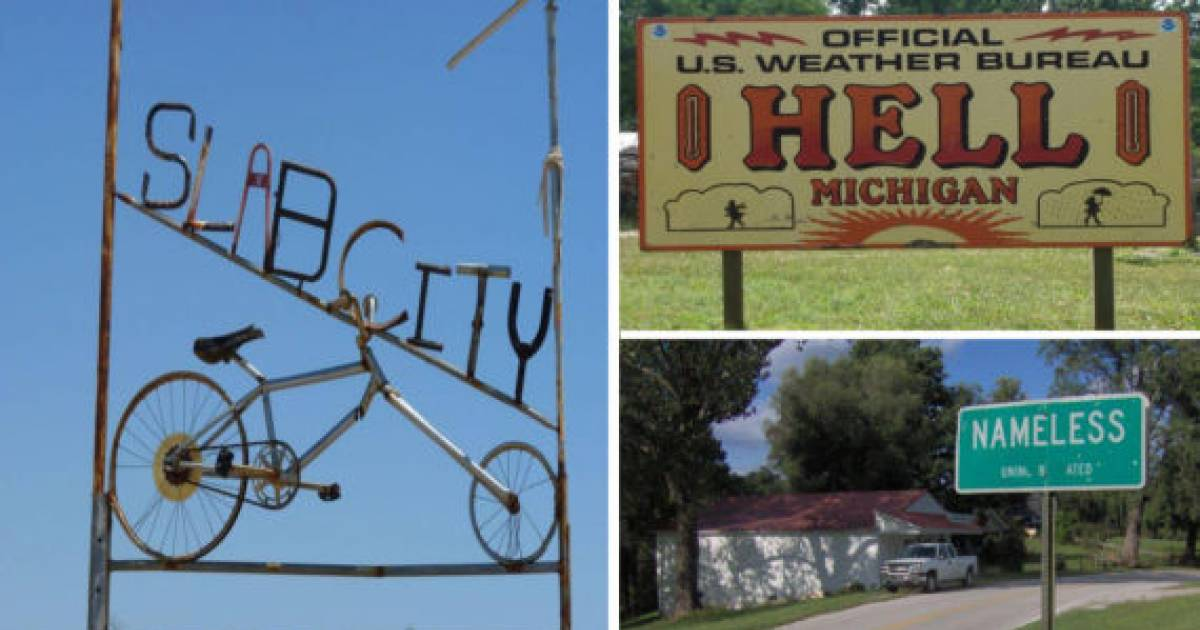 The Weirdest Small Towns In The United States