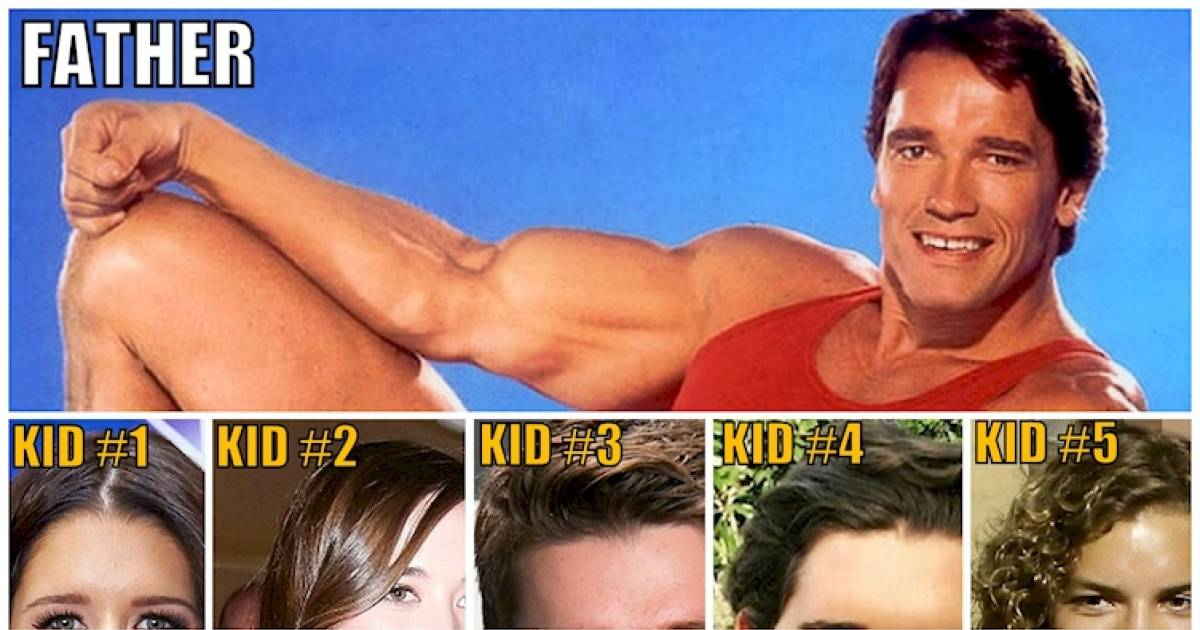 Here's Proof That Arnold Schwarzenegger's Kids Look Just Like Him
