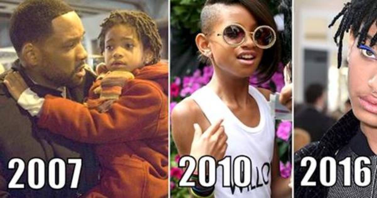 The Crazy Evolution Of Willow Smith