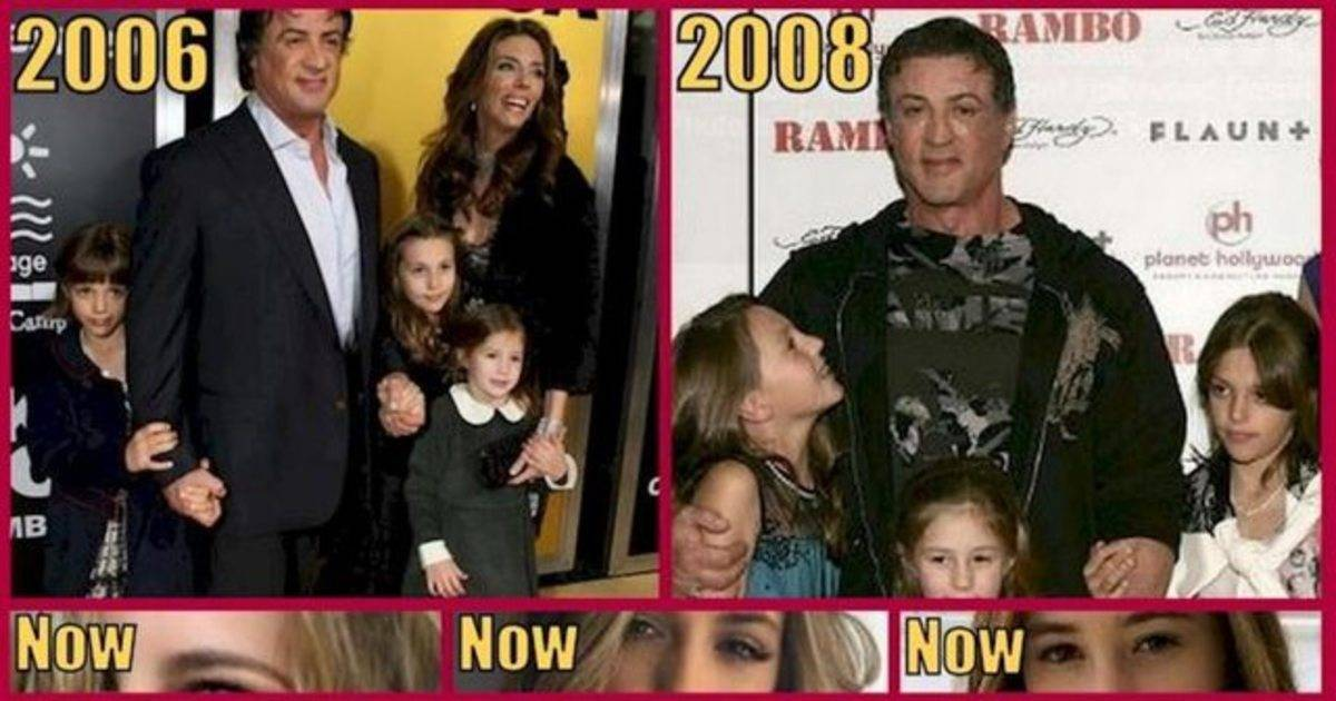 Sylvester Stallone's Daughters Are All Grown Up And Taking Over Hollywood