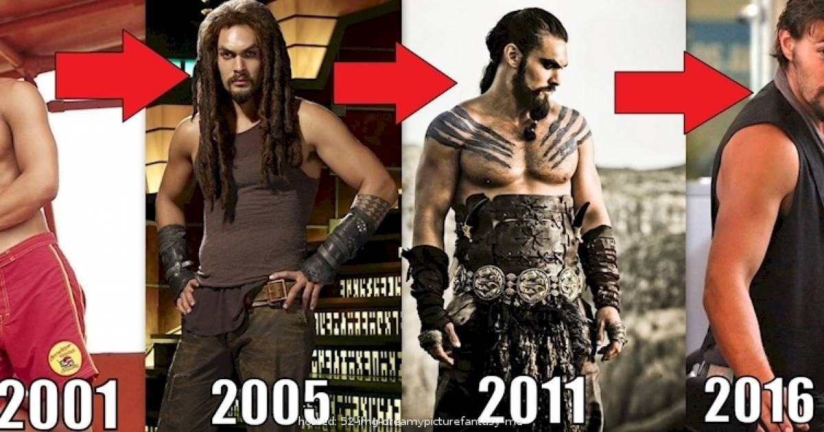 Jason Momoa: From Childhood To Superstar