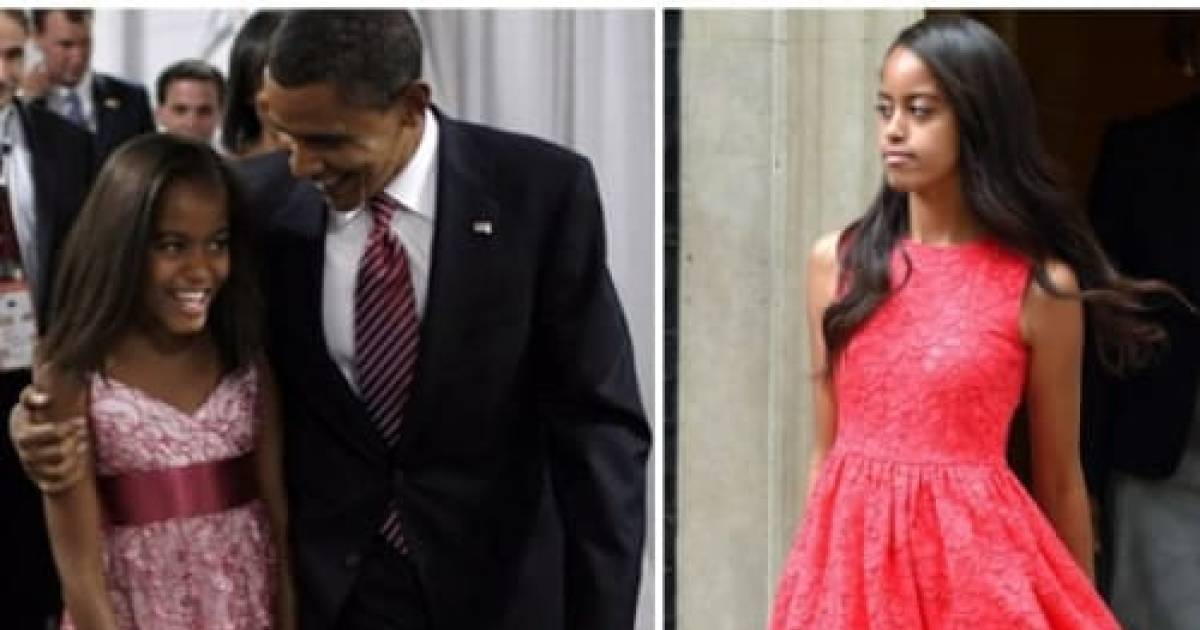 She's All Grown Up! From Gawky Kid To Chic Young Woman, Malia Leaves The White House Completely Transformed