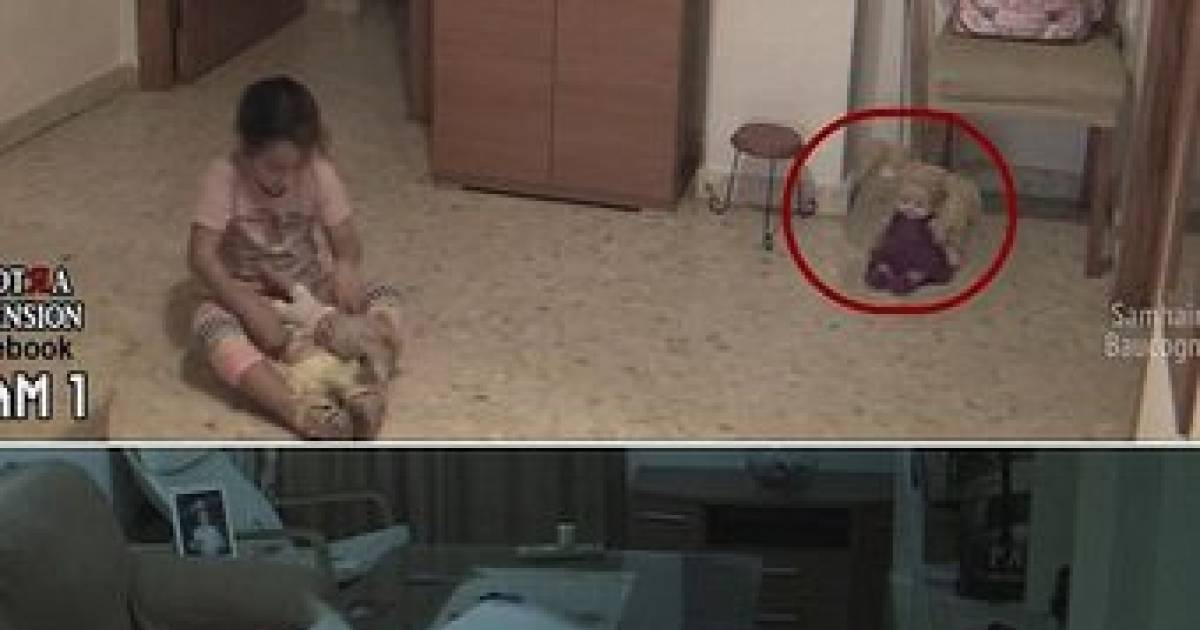 She Was Playing With Her Dolls When One Moved On Its Own Watch Carefully!