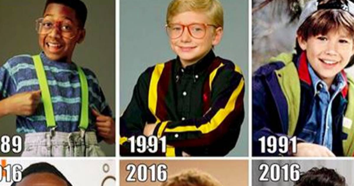 Incredible Images Of 9Os Sitcom Stars Then And Now