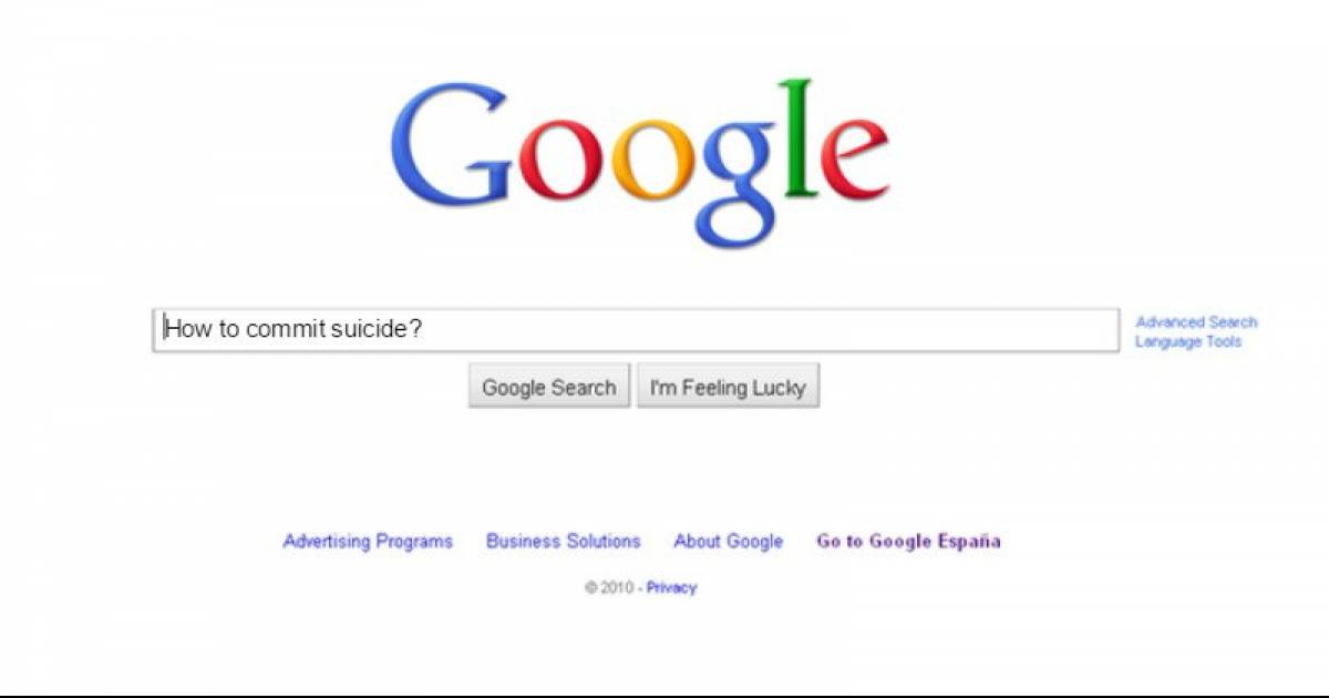 "This Girl Googled ""How To Commit Suicide"" What Google Did Next Is Unbelievable"