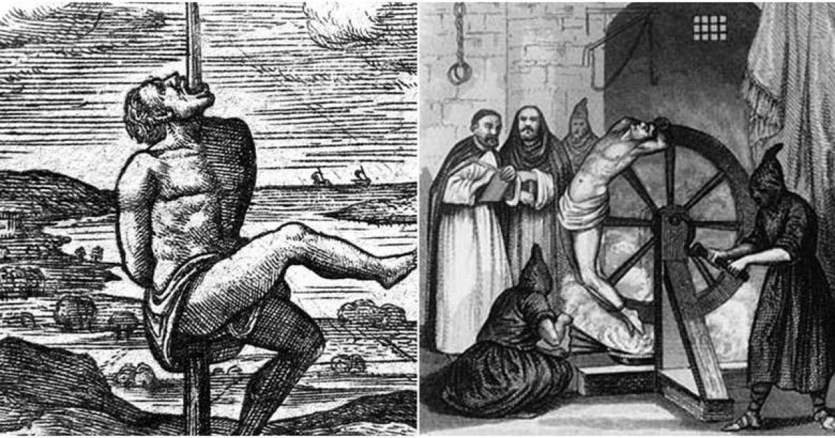 15 Downright Disturbing And Horrifying Medieval Deaths