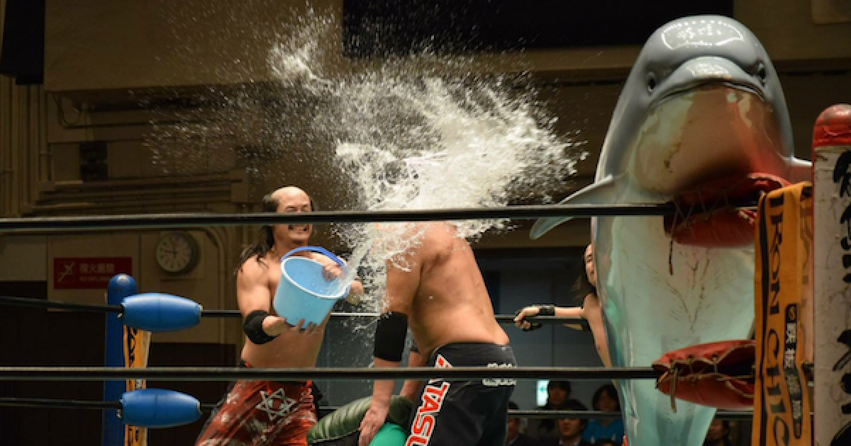 25 Photos That Prove Japanese Wrestling Is The Most Insane Sport The World Has Ever Seen