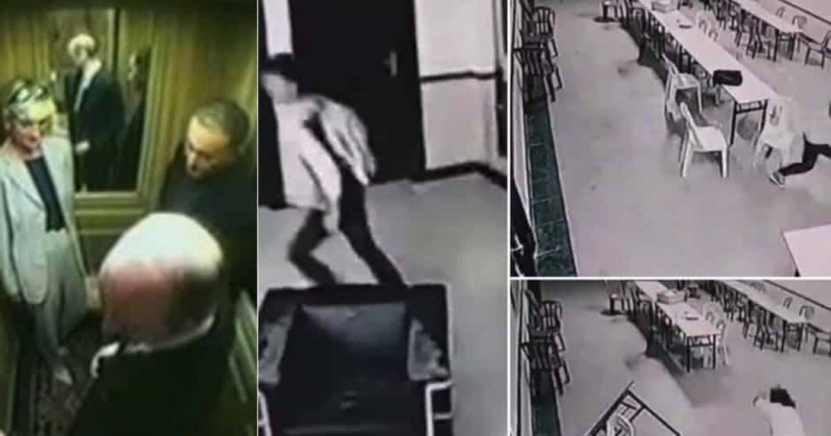 The Creepiest Footage Found On Hotel Cameras
