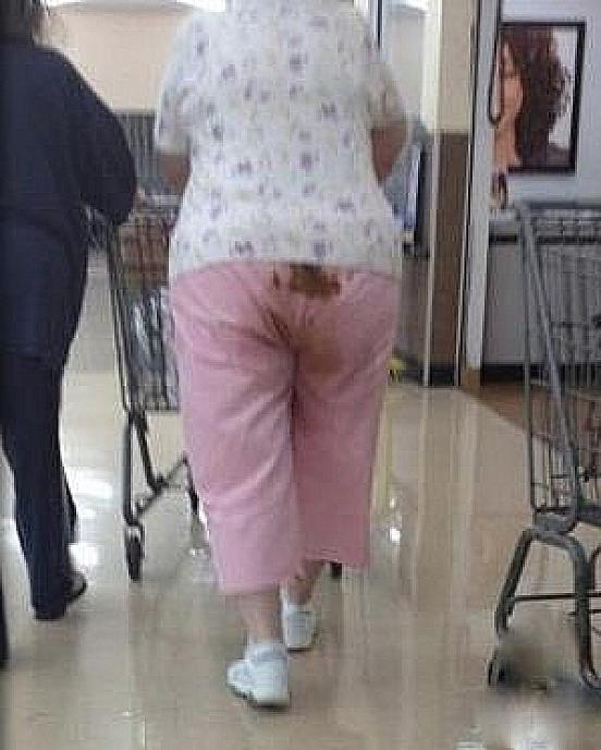 Adult wearing diaper pic