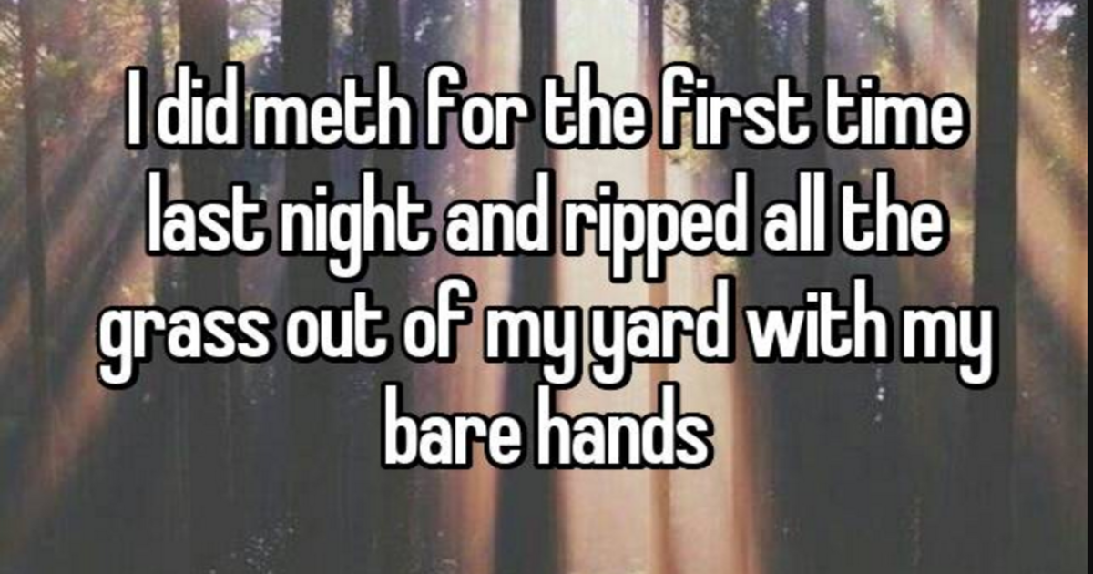 20 Teenagers Confess About Their Wild Experiences Taking Party Drugs